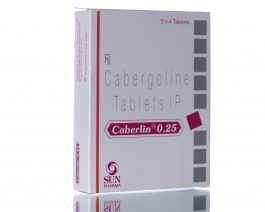 CABERLIN (Dostinex) 8 tablets