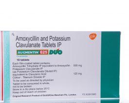 Augmentin 625 – Amoxycillin – 10 tablet