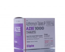AZEE (Zithromax)1000 mg – 10 tablet