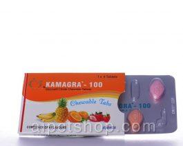 Kamagra CT (Chewable) (Viagra)100 mg – 4 tablet