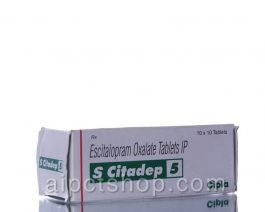 S CITADEP (Lexapro)5MG – 100 tablet