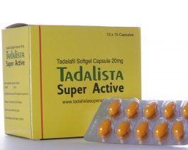 Tadalista Super Active 20 mg Cialis Tadalafil – 10 tablets
