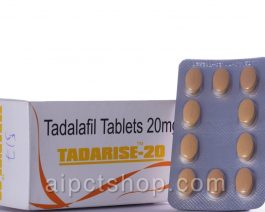 Tadarise 20 mg Cialis– 10 tablets