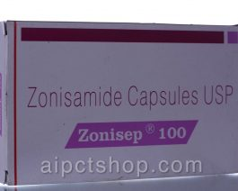 ZONISEP (Zonegran)100MG – 50 tablet