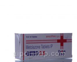 Zytanix (Zaroxolyn)2.5 Mg – 100 tablet