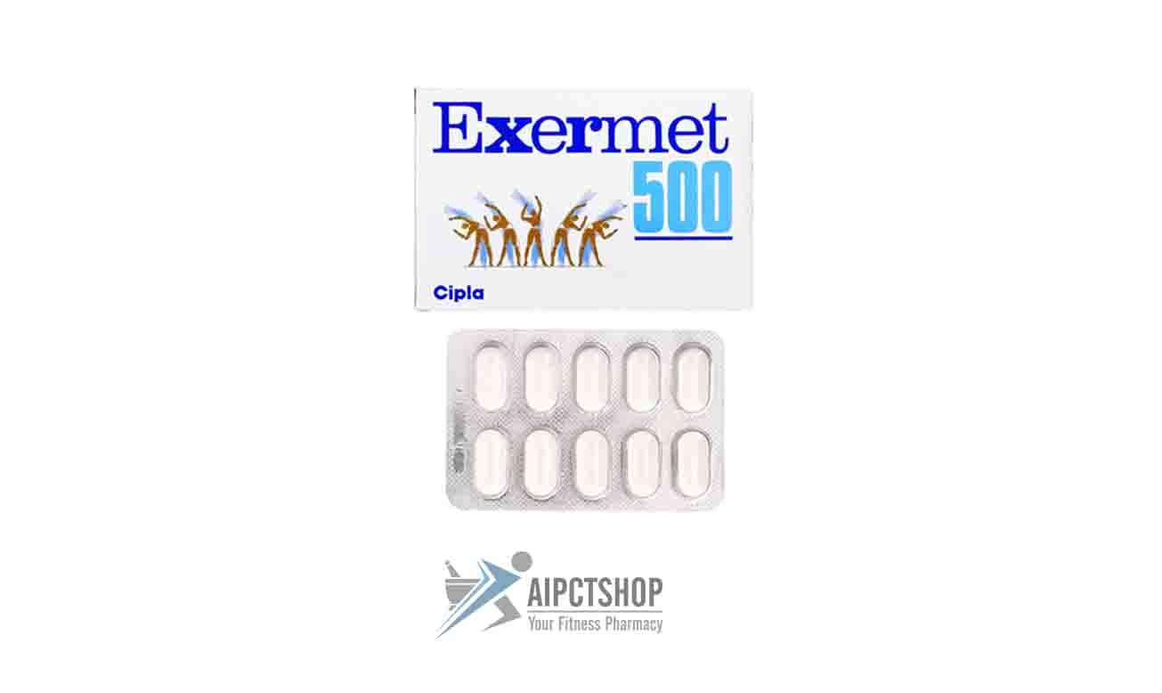 EXERMET (Glucophage XR)500 mg 150 pills