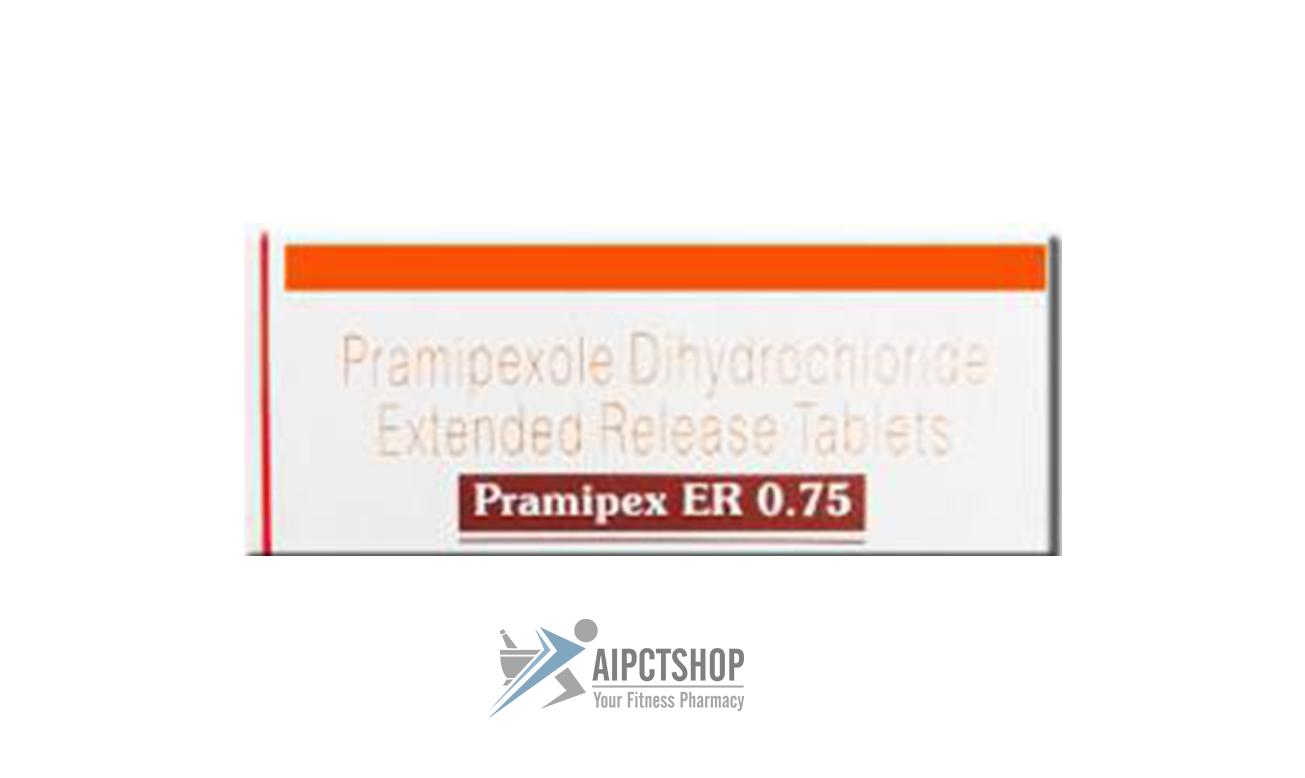 Pramipex ER (Pramipexole ER)0.75mg Mirapex – 30 tablet