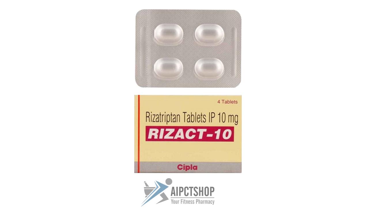 Rizact (Maxalt)10mg – 4 tablet