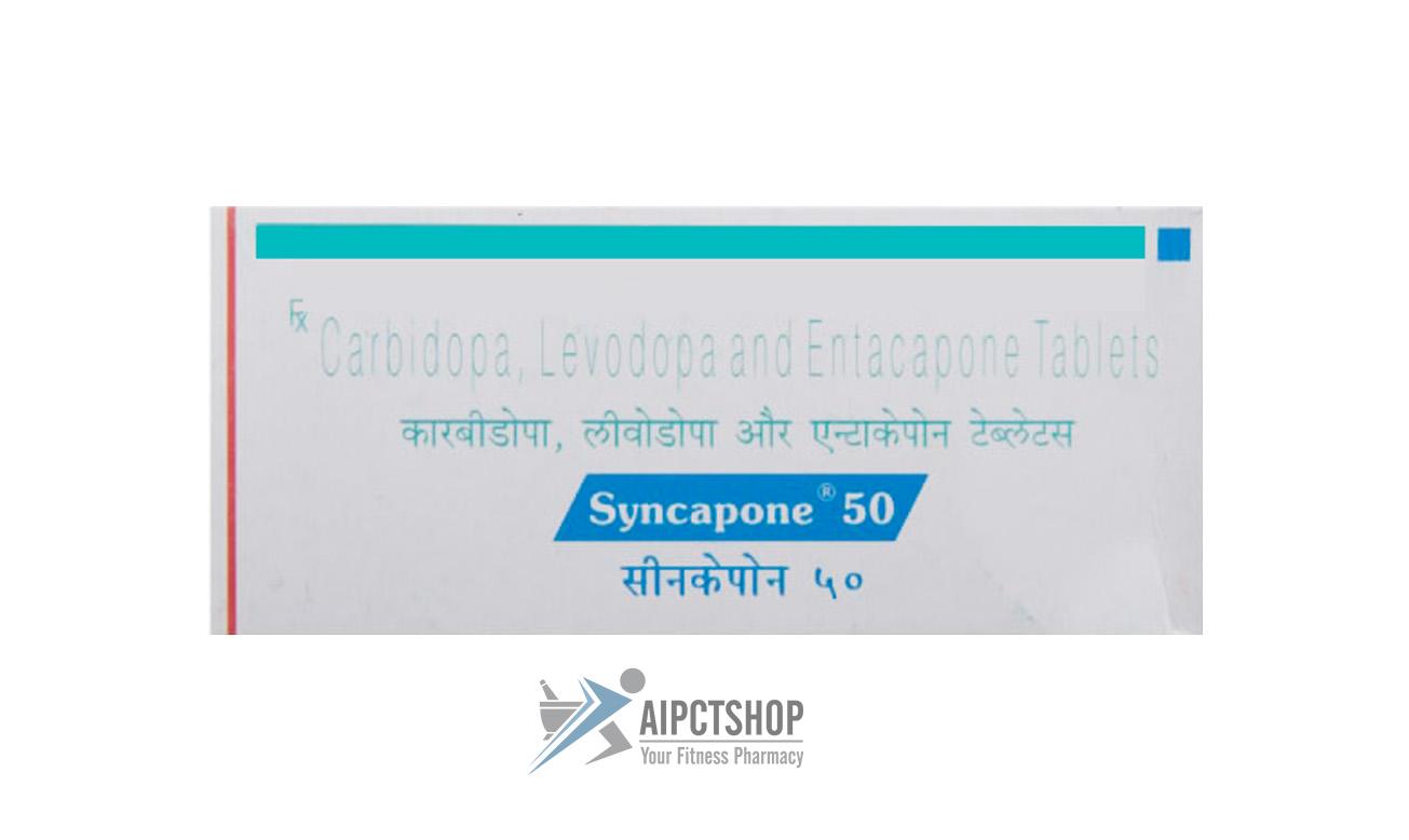 Syncapone (Stalevo)12.5 50 200MG – 50 tablet