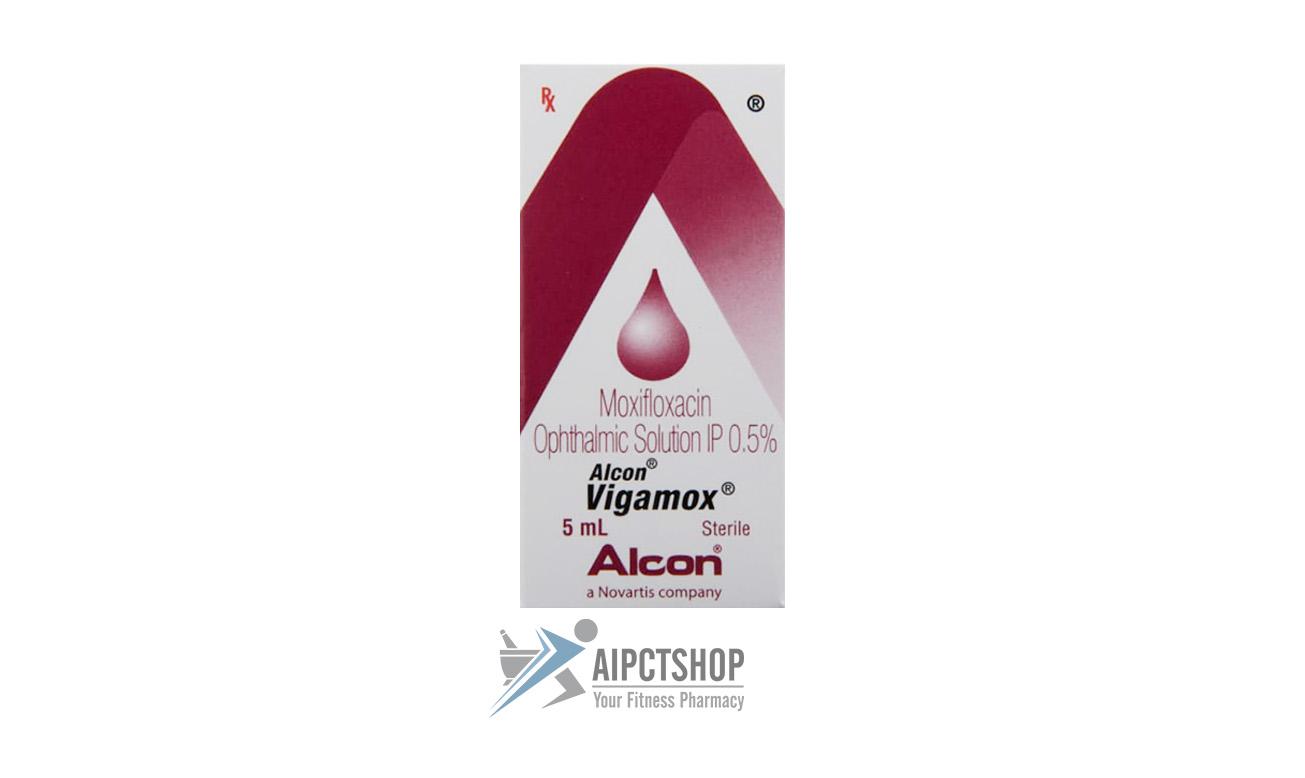 Vigamox Eye Drop (Vigamox)0.5%w-v